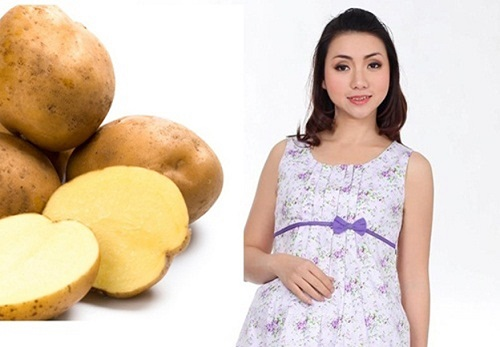 bà bầu nên ăn khoai tây không